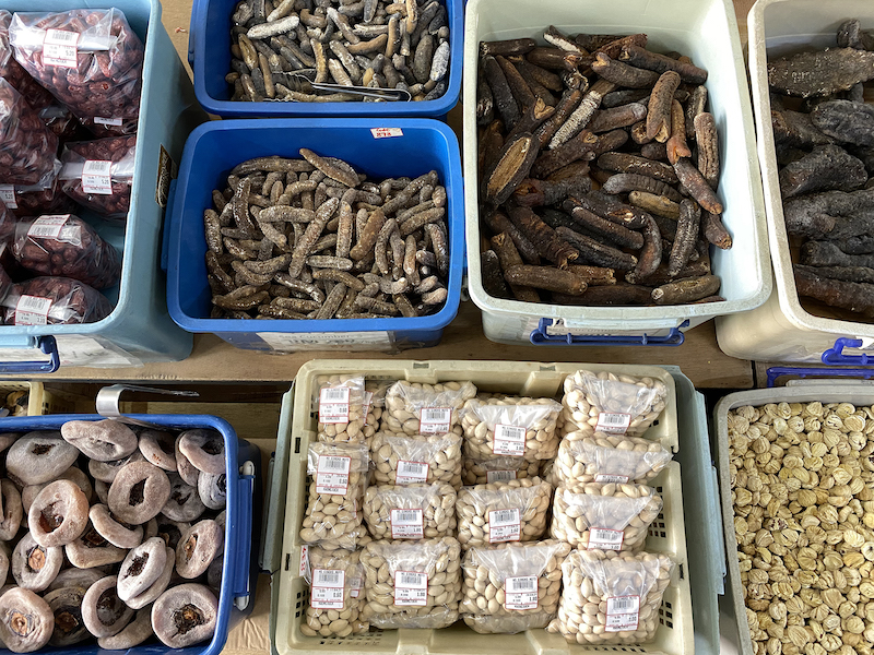 Kwong Tuck sells mostly dried seafood, preserved meat, dried food stuff such as fruits, bean and nuts. — Picture by KE Ooi