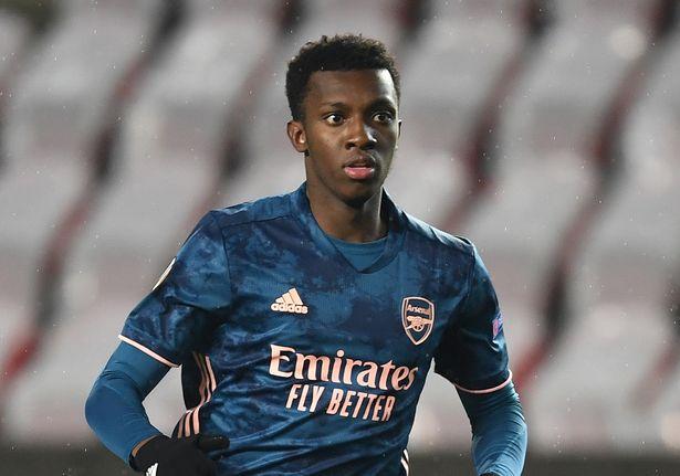 Eddie Nketiah has failed to force his way into Arteta's plans on a regular basis