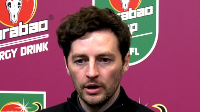 'We tried, it wasn't enough today': Ryan Mason on Spurs' Carabao Cup final loss