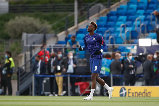 Tammy Abraham was left on the bench for Chelsea's draw with Real Madrid