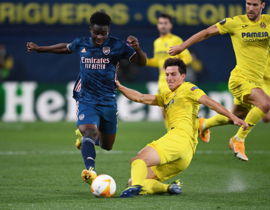 Pau Torres helped Villarreal secure a 2-1 win over Arsenal in the Europa League on Thursday