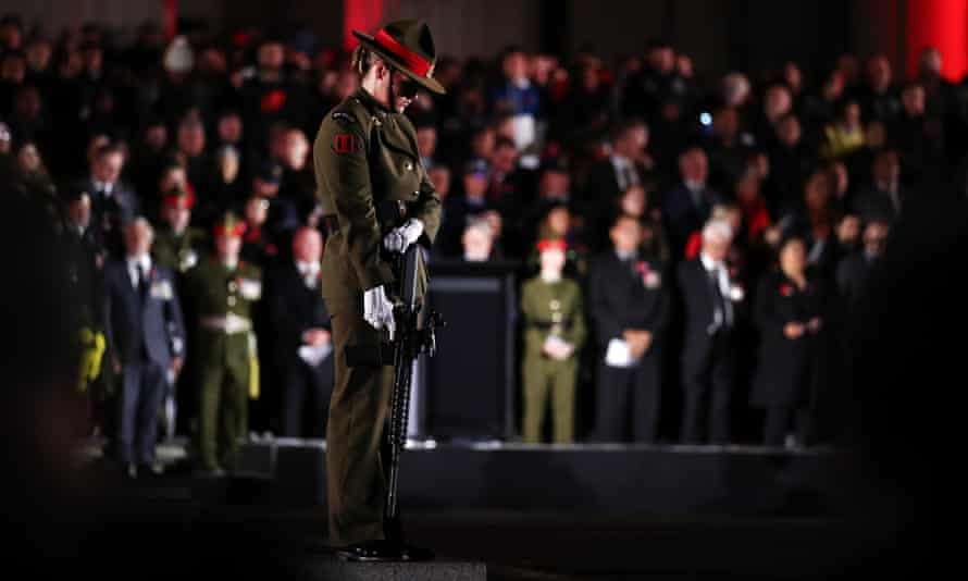 Crowds returned to the Auckland War Memorial Museum to mark Anzac Day.