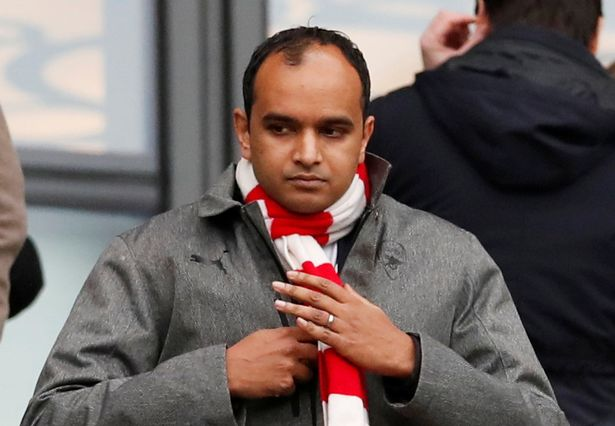 Vinai Venkatesham was lambasted by a fellow Premier League exec after he tried to apologise