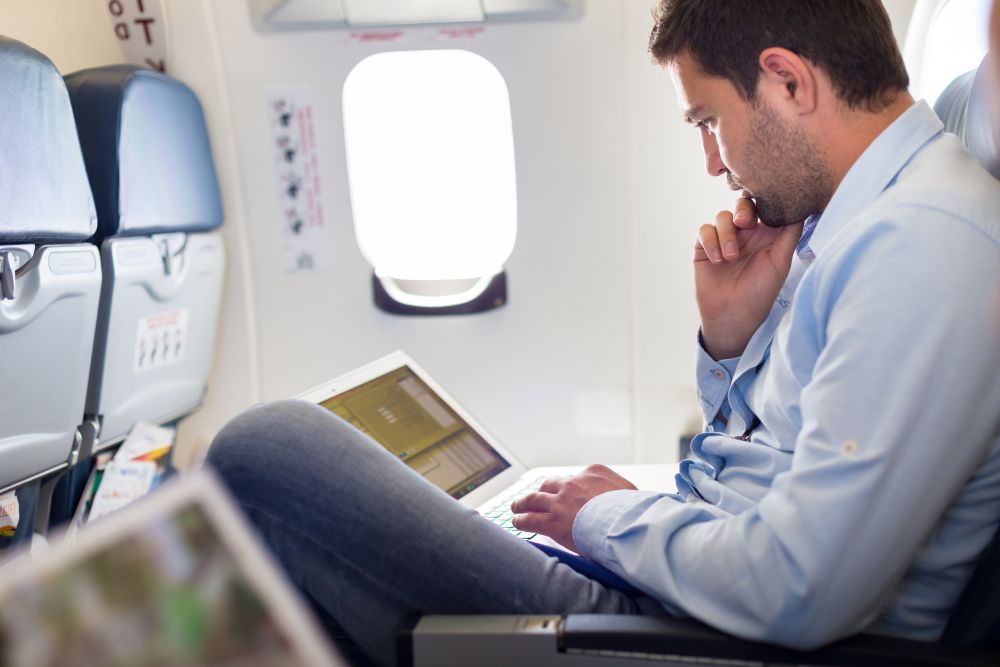 According to a report by the US ratings agency Moody's, 'Around 10-30 per cent of business travel could be replaced by alternatives such as virtual meetings.' — ETX Studio pic