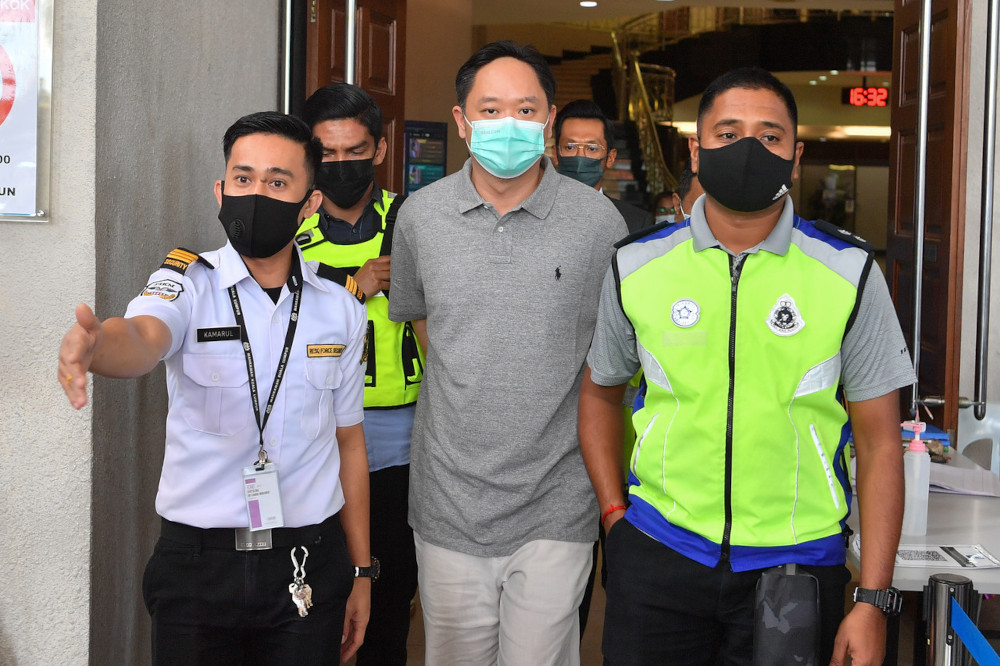 Chung Chee Yang is being investigated under Section 4(1) of the Anti-Money Laundering, Anti-Terrorism Financing and Proceeds of Unlawful Activities Act 2001 (AMLA). — Bernama pic