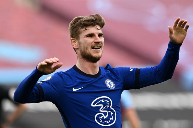 Werner's winner gave Chelsea a boost in their top-four hopes