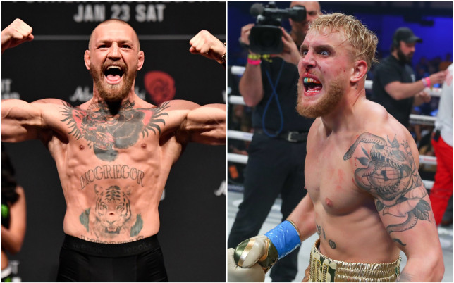 Conor McGregor and Jake Paul