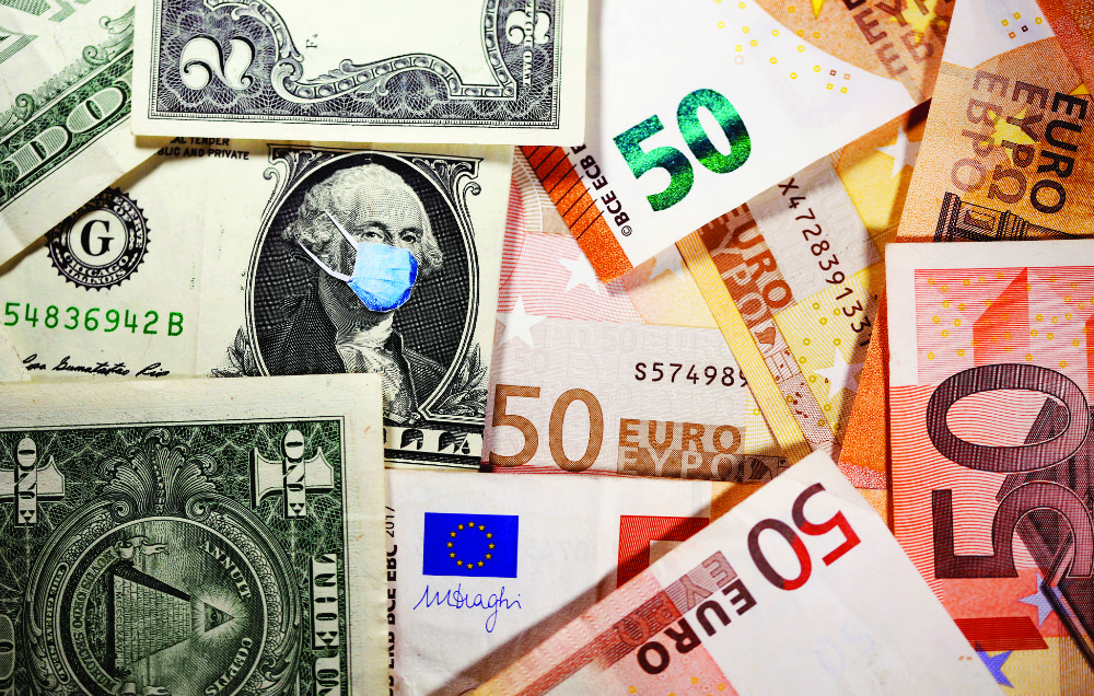 The monthly sentiment survey for the 19 countries sharing the euro on Thursday showed optimism rising to 110.3 points in April from 100.9 in March. (Reuters)
