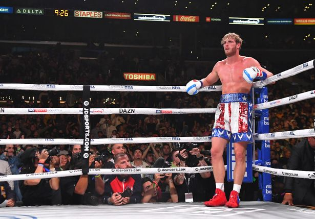 Logan Paul has only fought once and lost to fellow YouTuber KSI