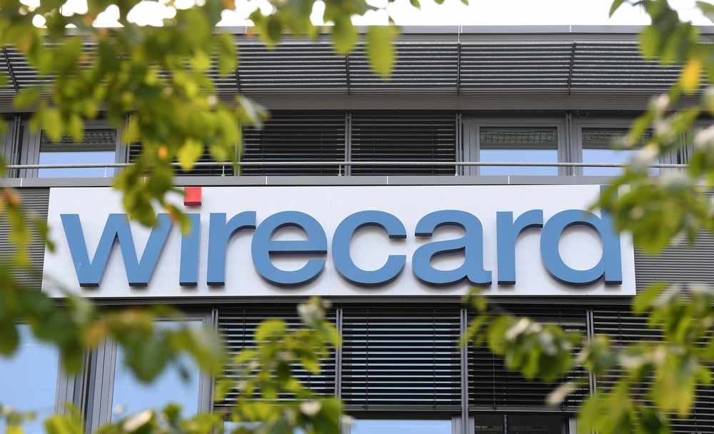 Company logo at the headquarters of the technology and financial services company Wirecard in Aschheim near Munich September 18, 2018. — AFP pic