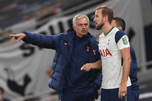 Harry Kane says he is 'surprised' by Spurs' decision to sack Jose Mourinho