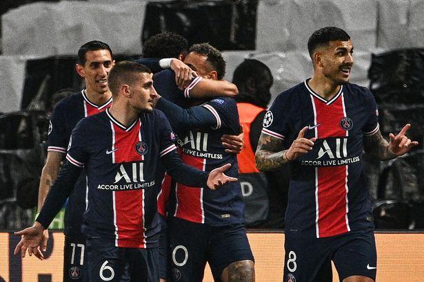 Marquinhos opened the scoring for Paris Saint-Germain