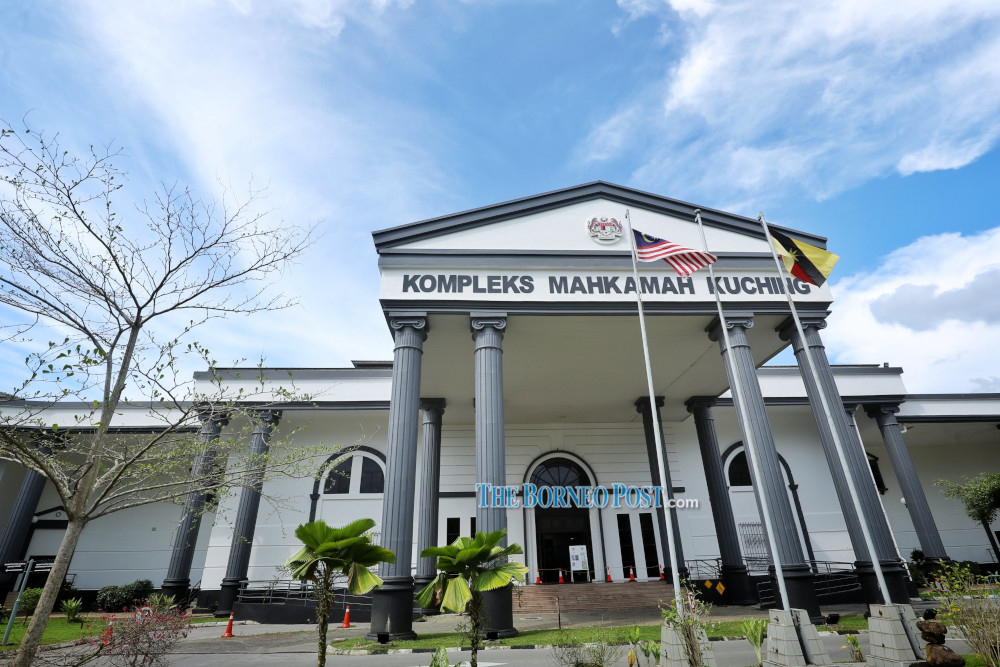 Magistrate Zaitom Anuar convicted Asfarizan Jeffrin Zaini, 28, on his own guilty plea to a charge under Section 323 of the Penal Code. — Borneo Post Online pic