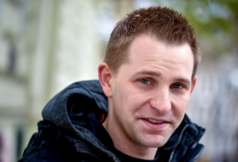 Max Schrems, Austrian online privacy activist, poses for a picture in Vienna. — Picture via ETX Daily