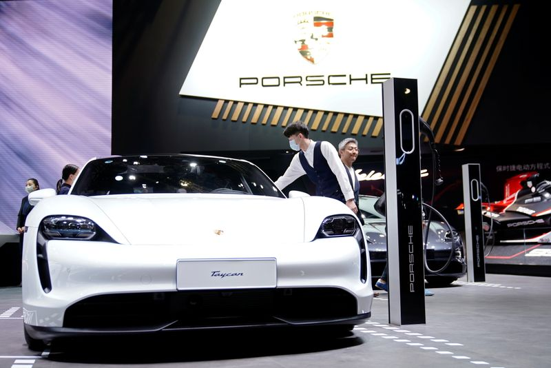 Porsche plans EV battery cells factory in southern Germany