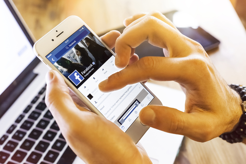 Facebook ranks second among the platforms preferred by internet users worldwide, apart from in China, with 22 per cent of positive responses, according to the We Are Social study. — Bombuscreative /IStock.com pic via ETX Studio