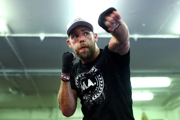 Billy Joe Saunders and his camp have issues with the ring size