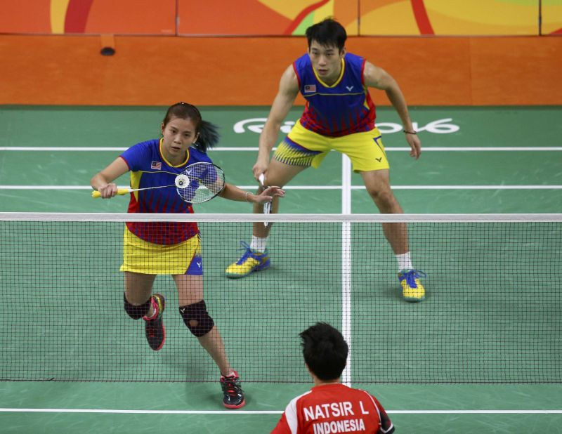 Liu Ying is determined to make Malaysia a proud nation should she and Peng Soon win gold for Malaysia in Japan. — Reuters pic
