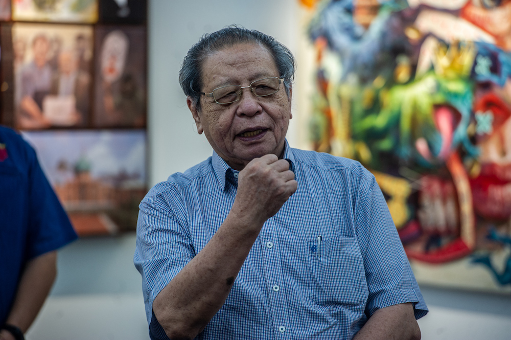 DAP's Lim Kit Siang says he noted 'an unusual rise' in suicides nationwide since the Covid-19 pandemic began and cited police records showing 638 suicides from January to July this year alone or averaging three suicides a day, compared to 631 in 2020 and 699 in 2019. — Picture by Shafwan Zaidon