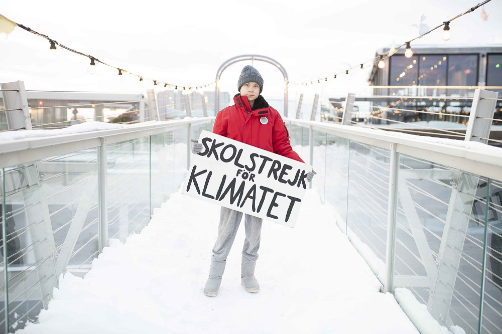 The Swedish climate activist spoke to 'Malay Mail' ahead of the launch of the new BBC documentary 'Greta Thunberg: A Year to Change the World'. — Picture courtesy of BBC Studios