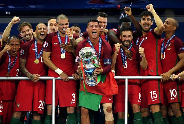 Cristiano Ronaldo's Portugal are defending champions