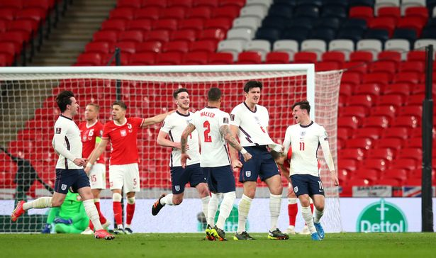 Maguire scored a late winner to beat Poland in England's most recent match, a World Cup qualifier