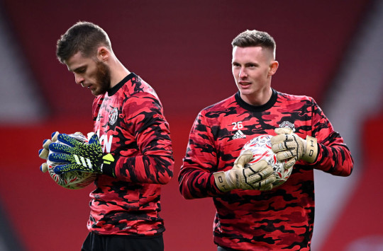 David de Gea and Dean Henderson are fighting for one spot at Old Trafford
