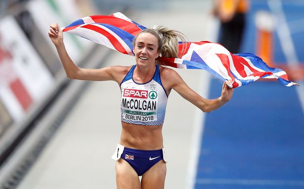 Eilish McColgan ran a perfectly judged race to win British title and stamp her ticket for Tokyo