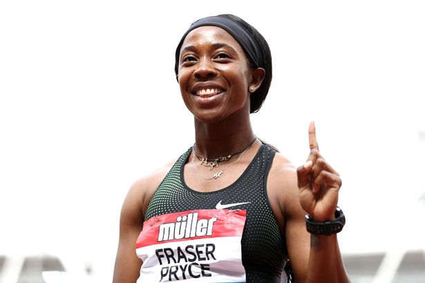 Shelly-Ann Fraser-Pryce became second fastest woman of all time over 100m yesterday
