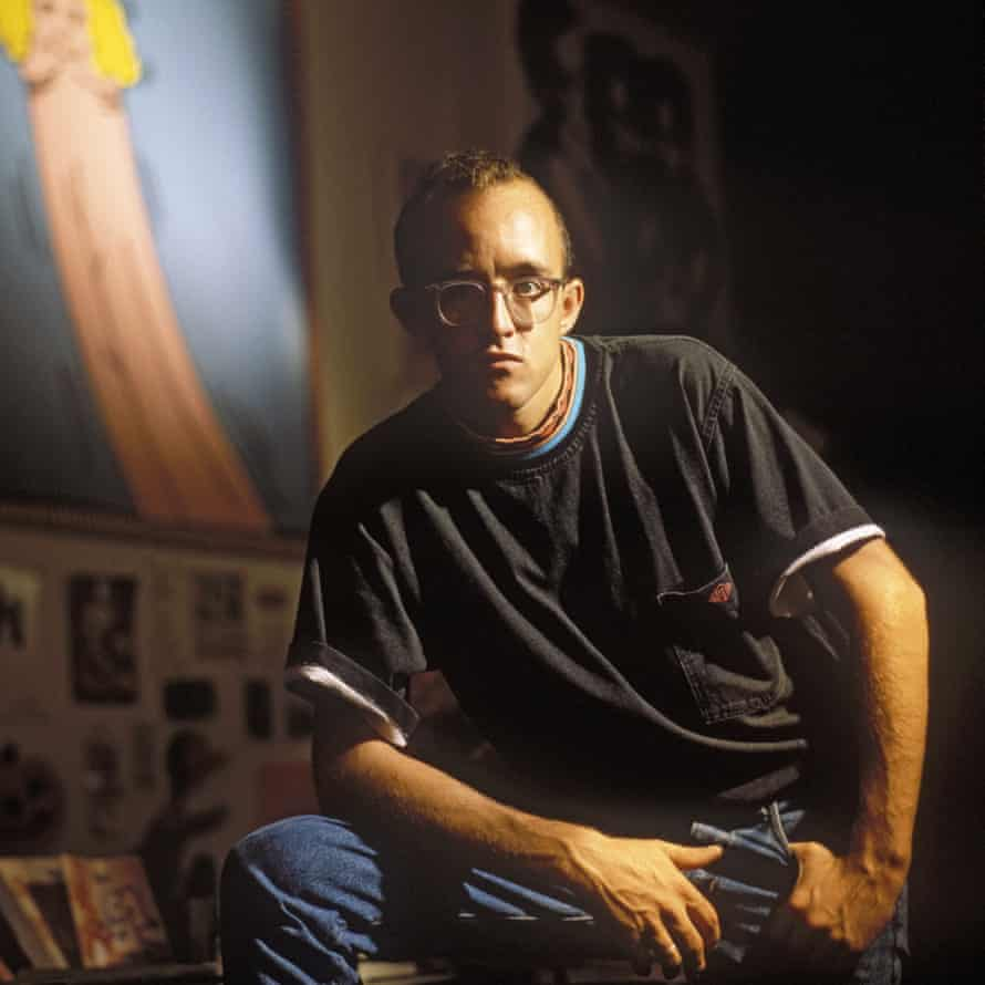 Keith Haring in 1986.