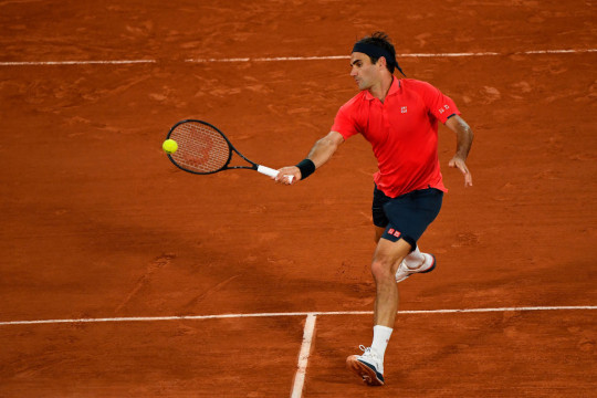 Roger Federer beat Dominik Koepfer in a thrilling third-round match on Saturday