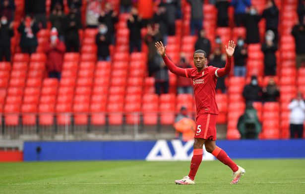 Wijnaldum called time on his Liverpool career at the end of the season