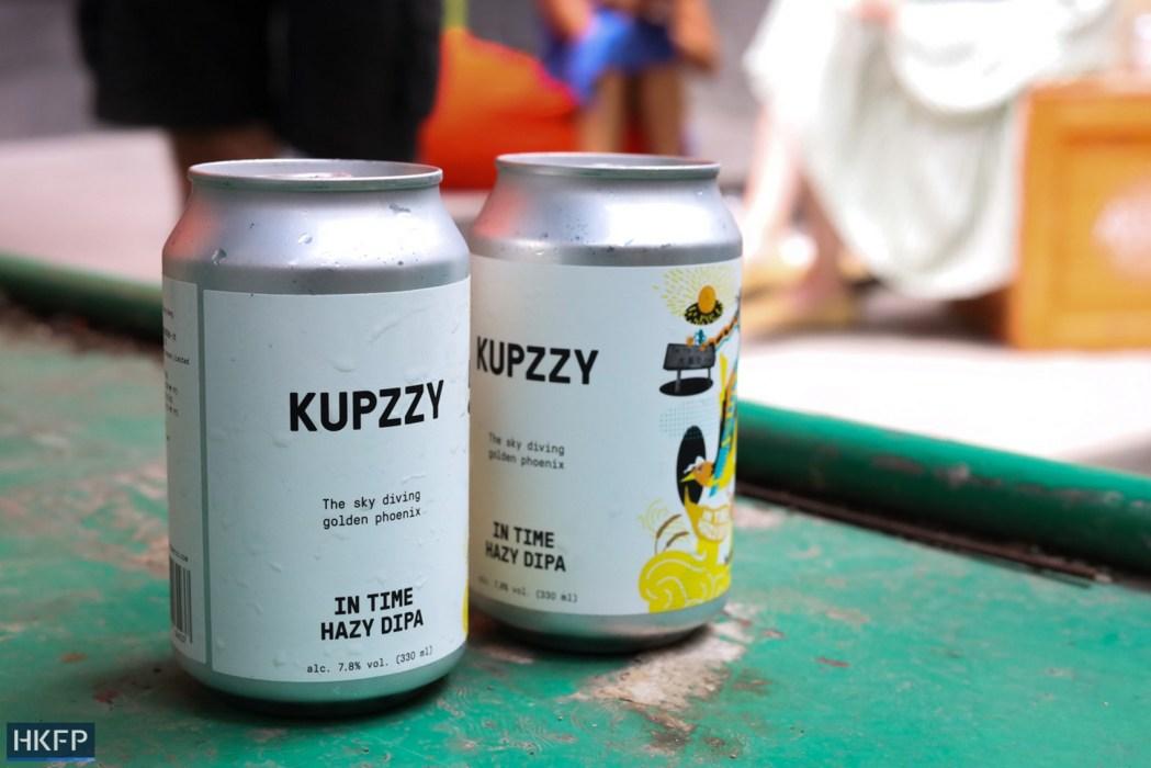 Hong Kong-brewed IPA beer sold by Graham Street Food Hall (Copy)