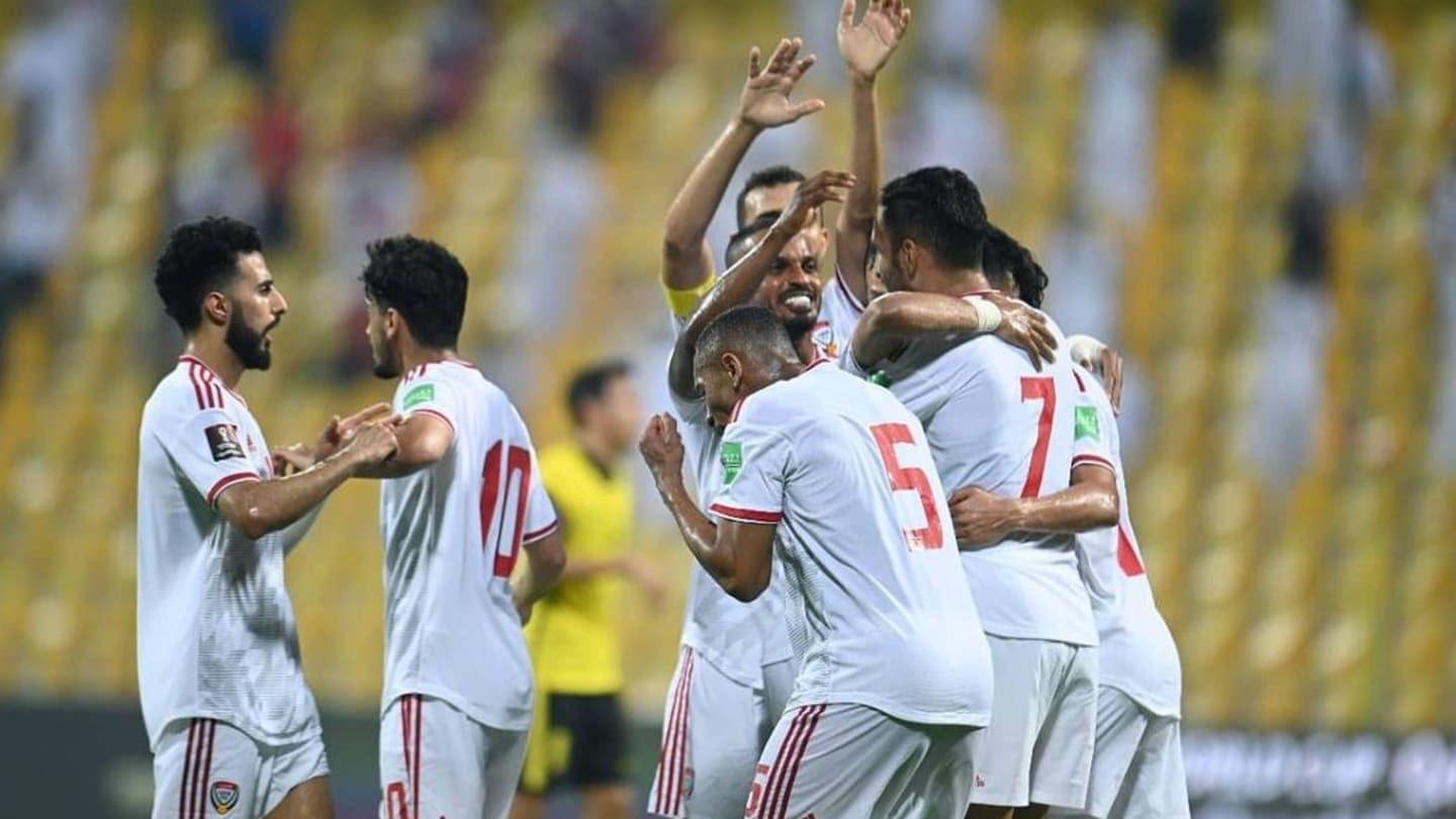 In Dubai, the UAE kept their hopes of a place in the next round of the Asian Qualifiers on track after defeating Malaysia 4-0. (AFC.com)
