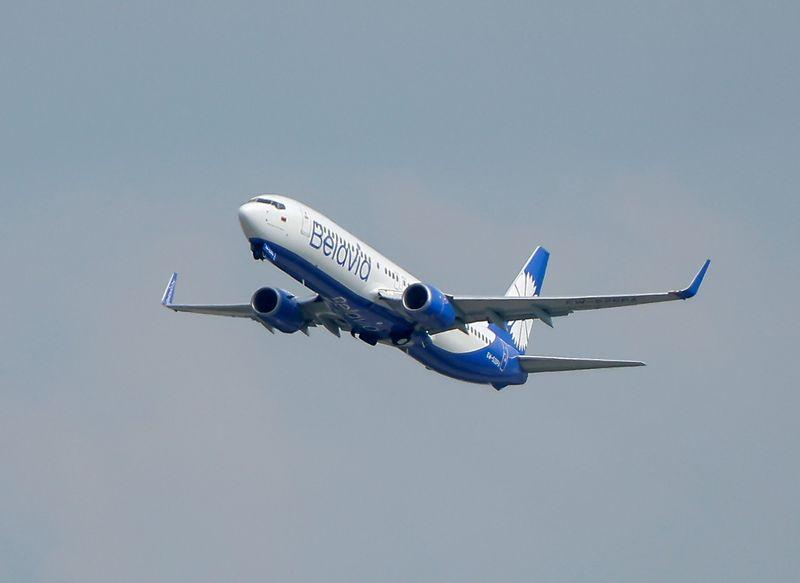 Exclusive - EU to blacklist Belarus airline ahead of economic sanctions, diplomats say