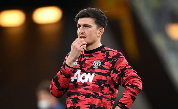 Maguire last played on May 9 and is yet to return to full training