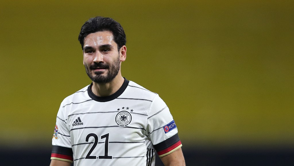 Having suffered disappointment with City in the Champions League final as they were beaten by Chelsea, Gundogan will hope for better fortune with his national team. (AFP/File Photo)
