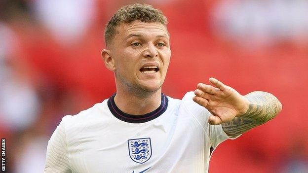 Trippier started at left-back in England's Euro 2020 Group D win over Croatia