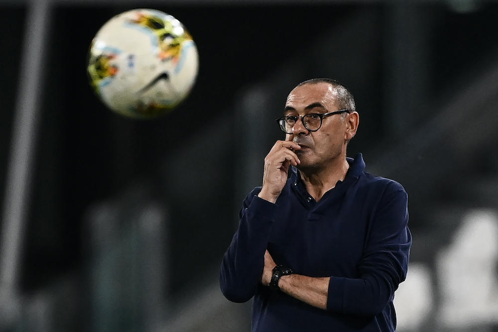 Sarri has been without a club since he was sacked by Juventus in August 2020, despite winning the Serie A title. ― AFP pic