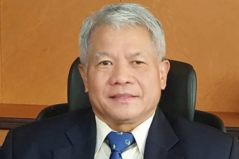 Walikota of Kapit District Council Lating Minggang. — Borneo Post pic