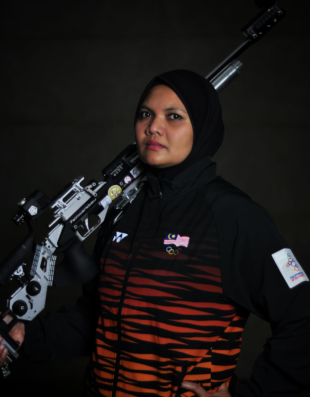 National shooting coach Mohd Yusri Jusoh does not rule out the possibility that something special could be achieved by Nur Suryani Mohamed Taibi at the Asaka Shooting Range on the day of the event, which is scheduled for July 31. — Picture from Facebook/Nur Suryani Mohamed Taibi