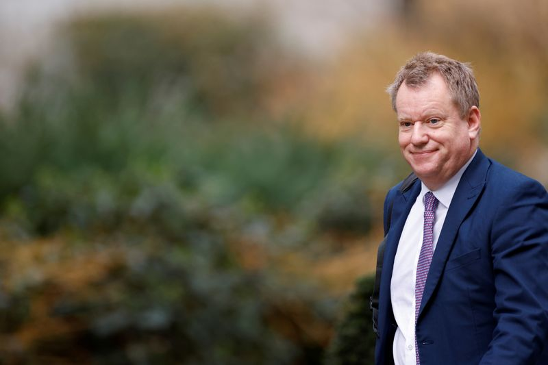 UK's Frost says EU needs to change tack for N.Ireland talks