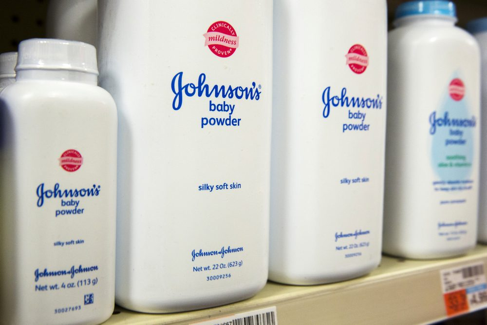 A 2018 Reuters investigation found that J&J knew for decades that asbestos, a carcinogen, was present in its talc products.  — Reuters pic