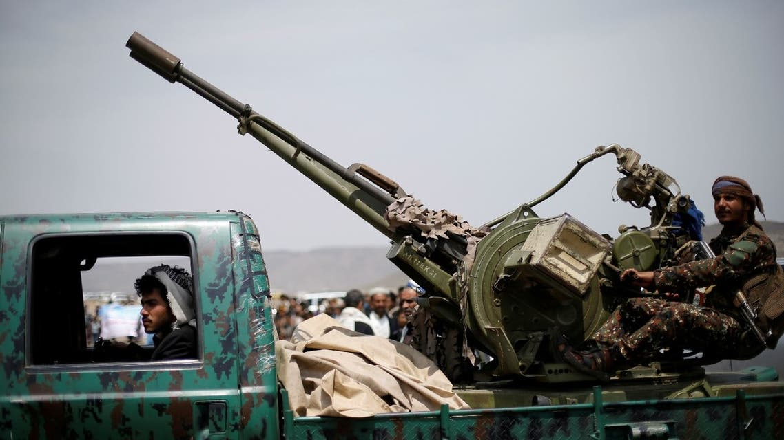 The Iran-backed Houthi militia launched an offensive to capture Marib from the internationally recognized government in Yemen in February. (File/Reuters)