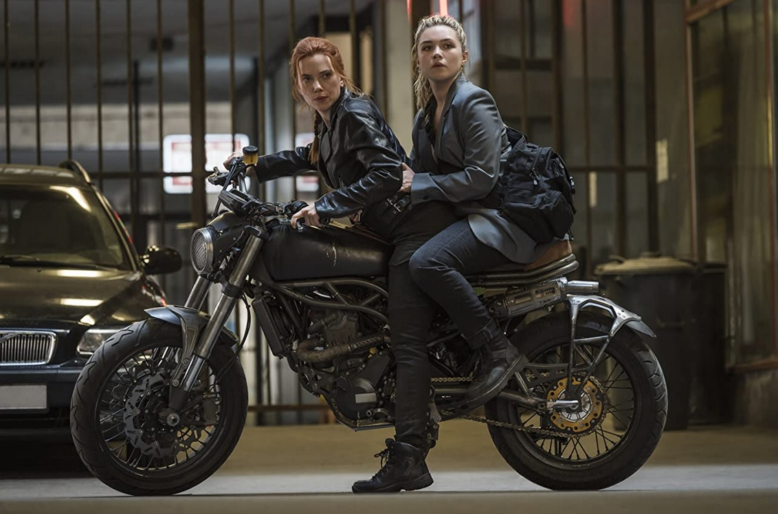 'Black Widow' stars Scarlett Johansson and Florence Pugh. (Marvel Studios)