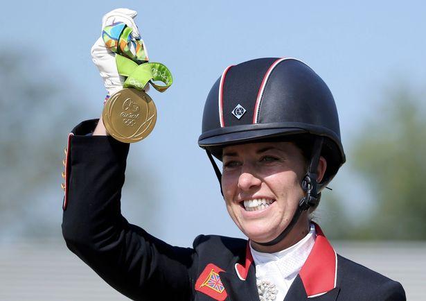 Two-time dressage gold medallist Charlotte Dujardin