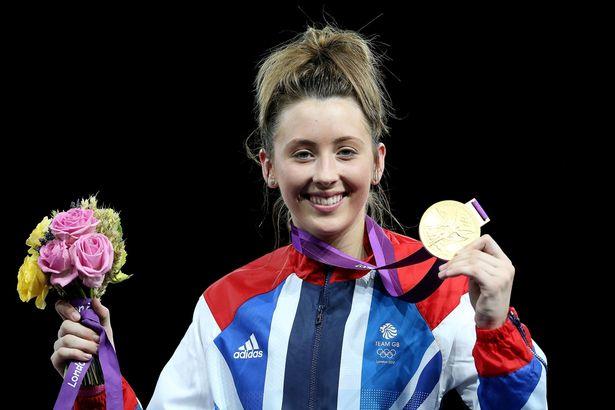 Jones became first Briton ever to win taekwondo gold at London 2012