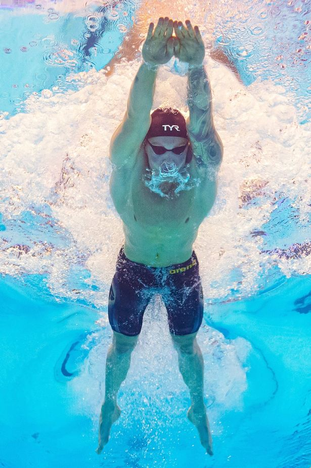 Peaty has the 20 all-time fastest times for 100m breaststroke