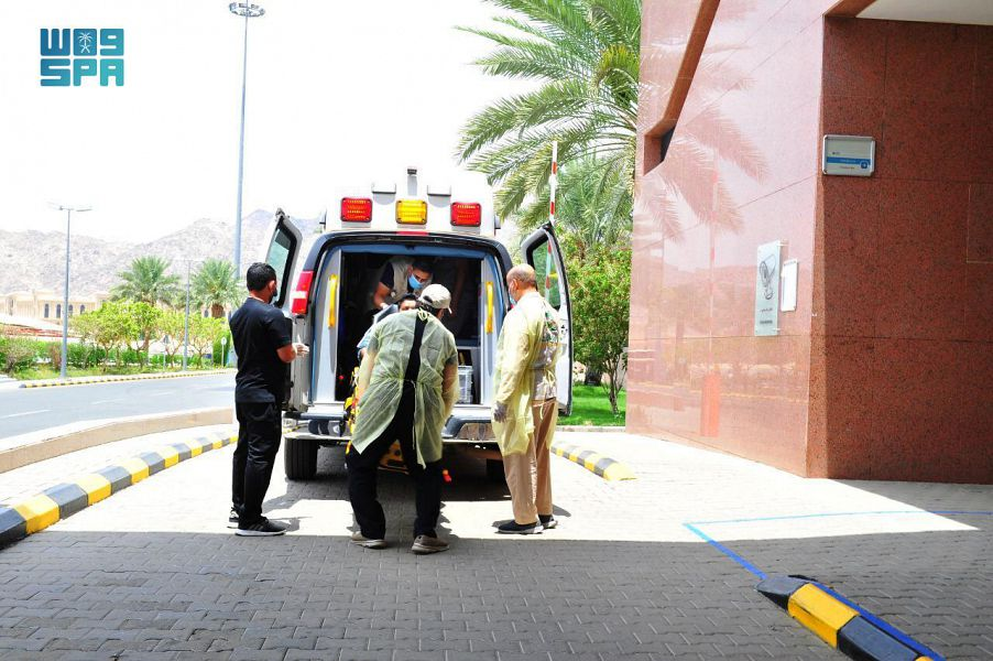 The Pakistani pilgrim was staying at an accommodation camp in Mina. (SPA)