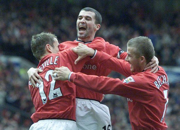 Roy Keane was part of Sir Alex Ferguson's Man Utd side that dominated English football